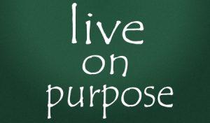 14828255 - live on purpose symbol