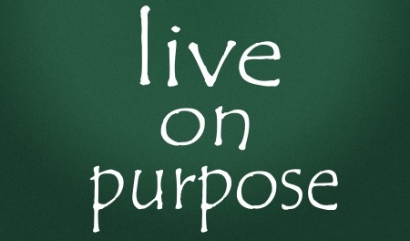 14828255 - live on purpose symbol